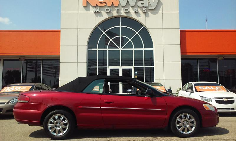 2004 CHRYSLER SEBRING LIMITED Air Conditioning Power Windows Power Locks Power Steering Tilt W