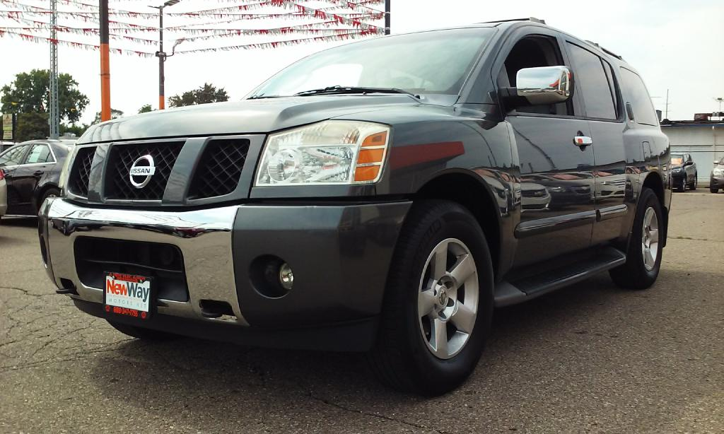 2004 NISSAN ARMADA SE Air Conditioning Power Windows Power Locks Power Steering Tilt Wheel AM