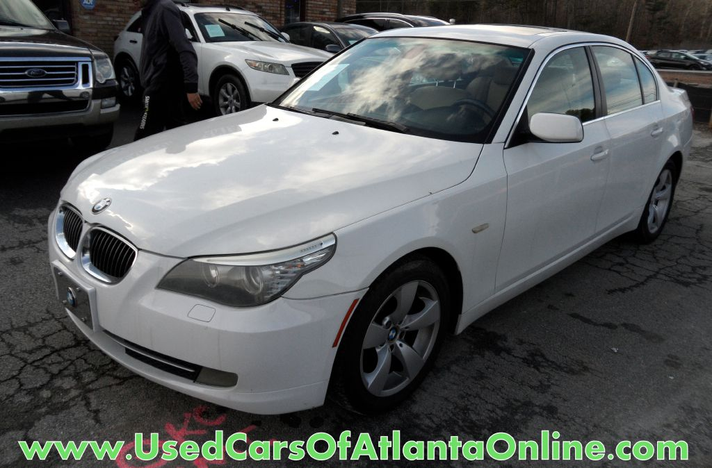 2008 BMW 528I WBANU53548C116694 USED CARS OF ATLANTA