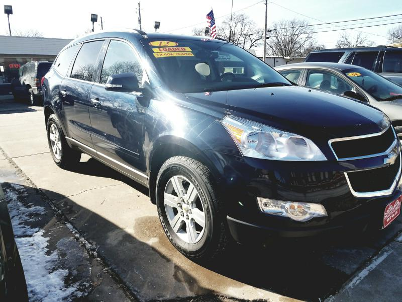 2012 CHEVROLET TRAVERSE 1GNKRGED7CJ127711 CORRIDOR MOTORS