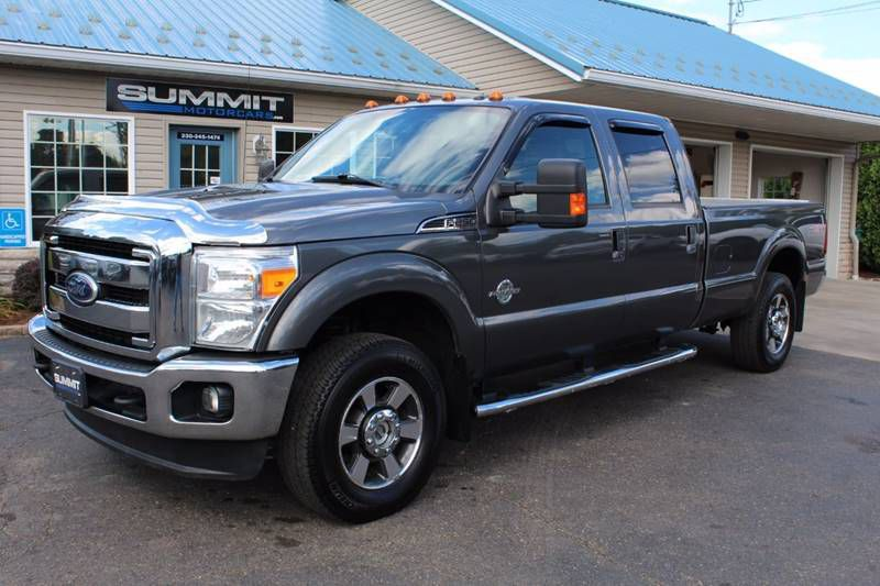 2017 FORD F250 SUPER DUTY XLT 4x4 LB POWERSTROKE for sale at Summit Motorcars