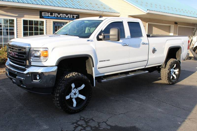 2016 GMC CANYON SLT 4X4 4Cyl DURMAX for sale at Summit Motorcars