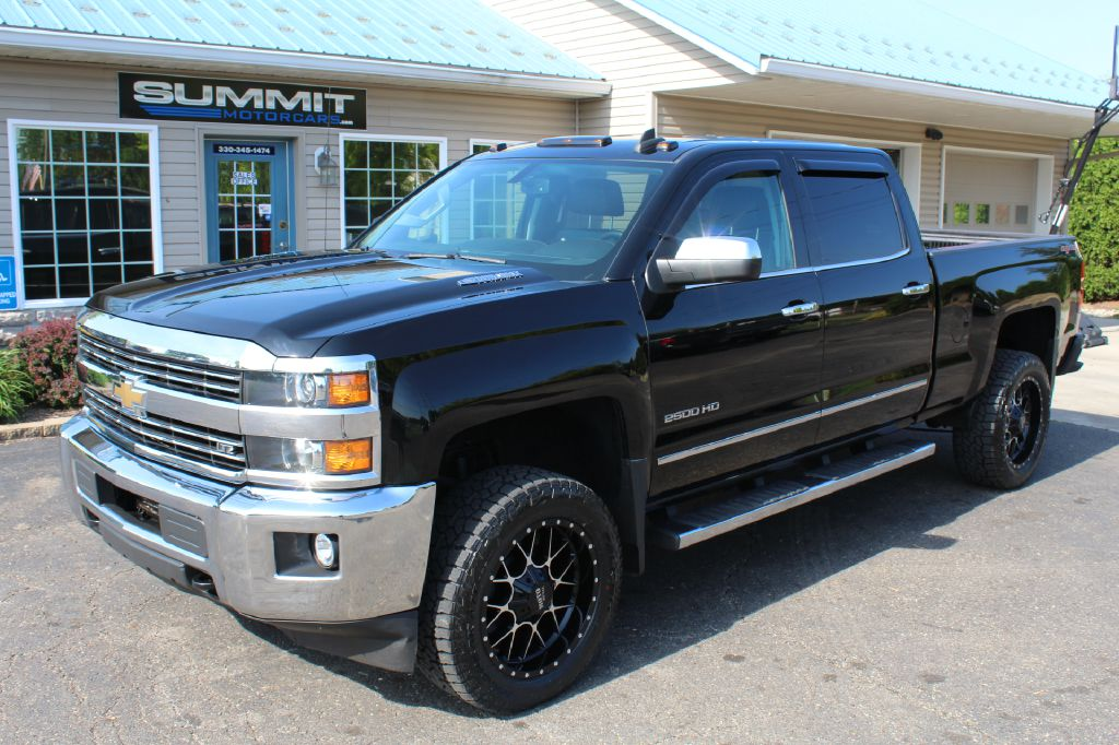2015 CHEVROLET SILVERADO 2500 LTZ 4x4 for sale at Summit Motorcars