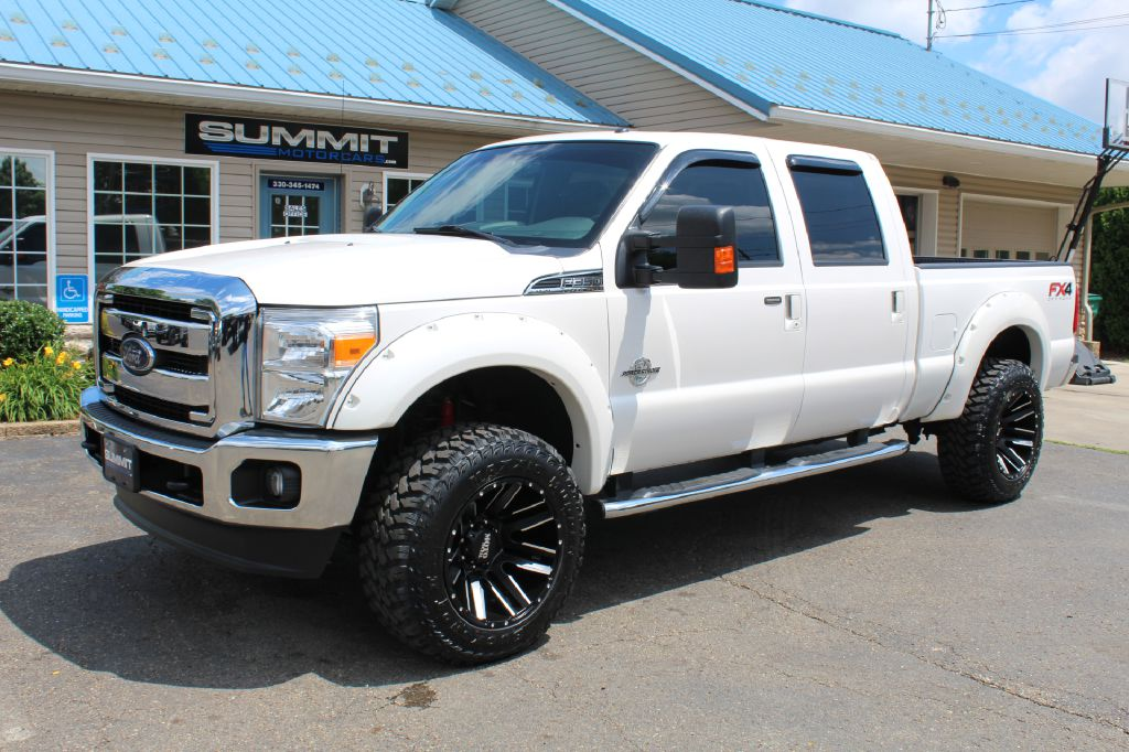 2014 FORD F250 SUPER DUTY XLT 4x4 POWERSTROKE for sale at Summit Motorcars