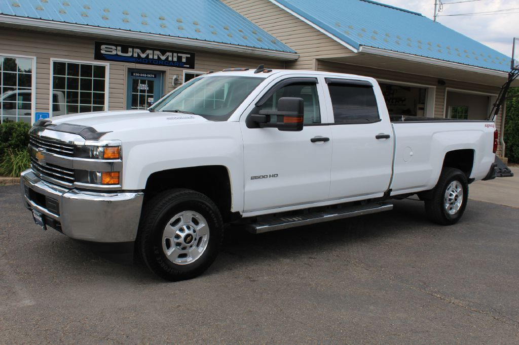 2010 CHEVROLET SILVERADO 2500 LT 4x4 DURAMAX for sale at Summit Motorcars