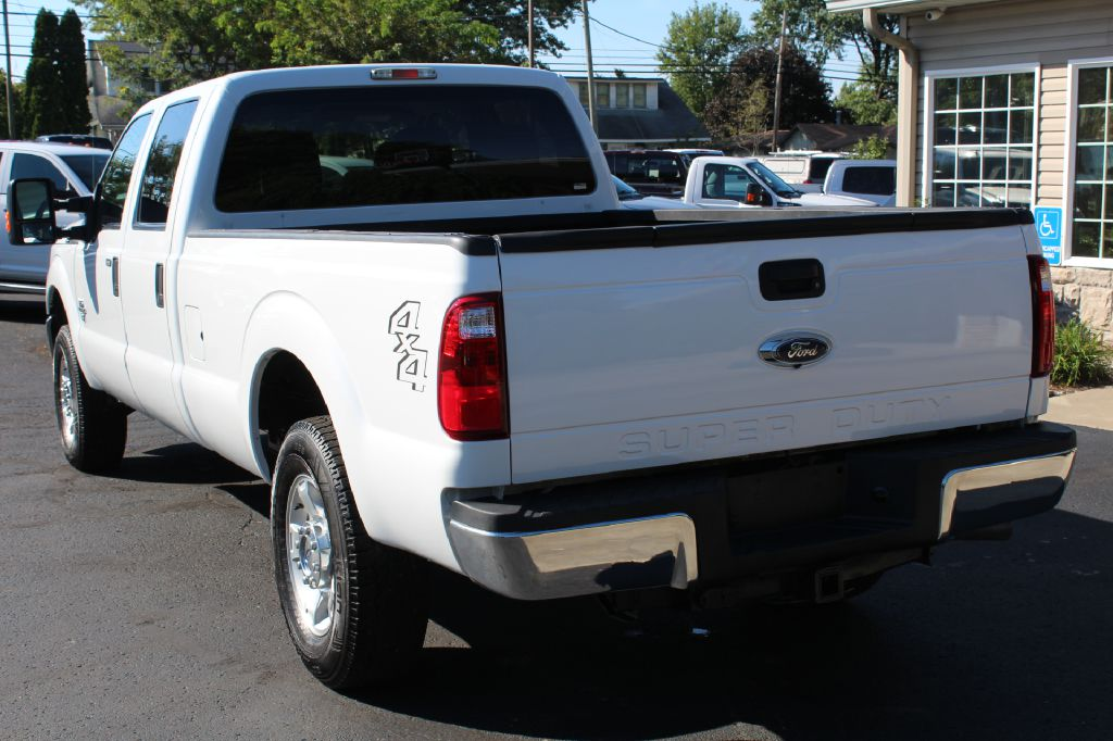 2016 FORD F250 SD XLT LB 4x4 POWERSTROKE for sale at Summit Motorcars
