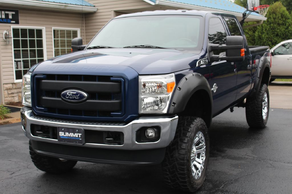 2012 FORD F250 SD LARIAT 4x4 POWERSTROKE for sale at Summit Motorcars