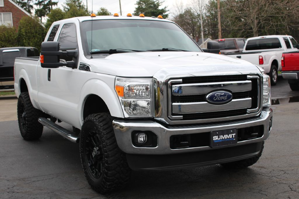 2015 FORD F250 XLT XLT 4WD for sale at Summit Motorcars