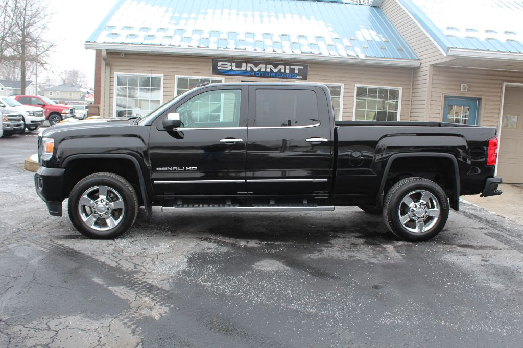 2015 GMC SIERRA 2500 DENALI 4WD DURAMAX for sale at Summit Motorcars