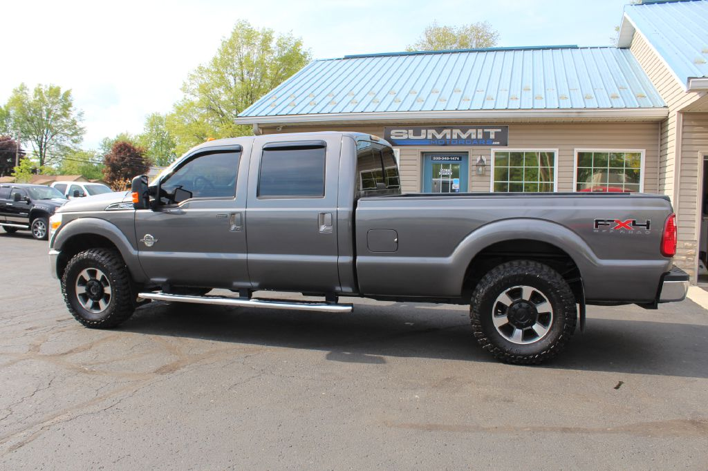 2011 FORD F250 LARIAT LB LARIAT 4WD POWERSTROKE for sale at Summit Motorcars