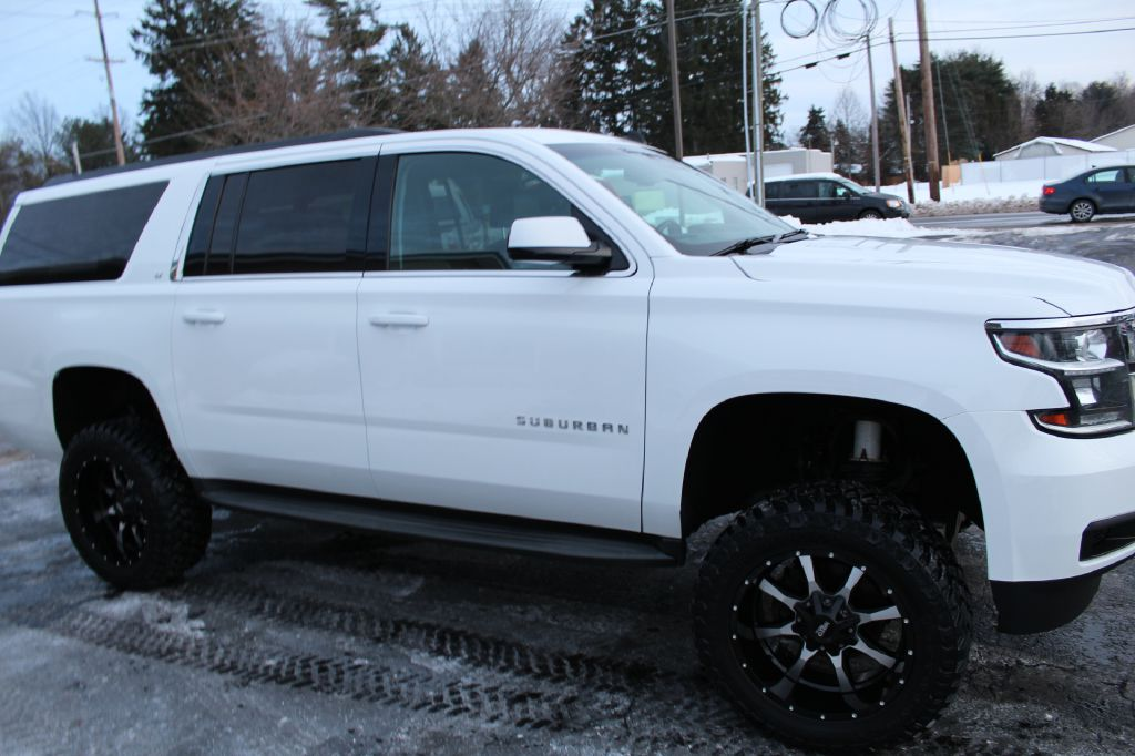 2015 CHEVROLET SUBURBAN LT 1500 LT 4WD for sale at Summit Motorcars