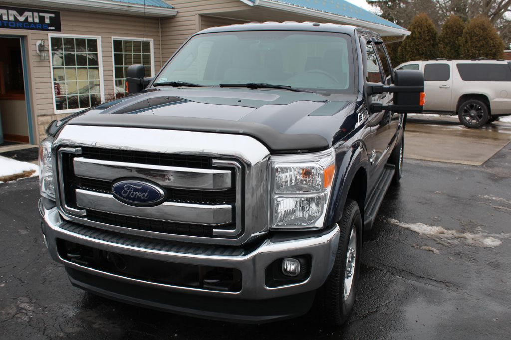 2016 FORD F250 XLT XLT 4WD POWERSTROKE for sale at Summit Motorcars
