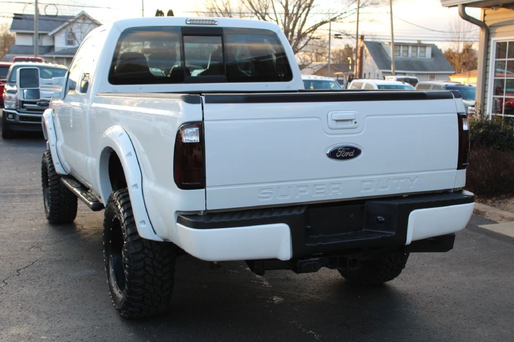 2008 FORD F250 LARIAT LARIAT 4WD POWERSTROKE for sale at Summit Motorcars