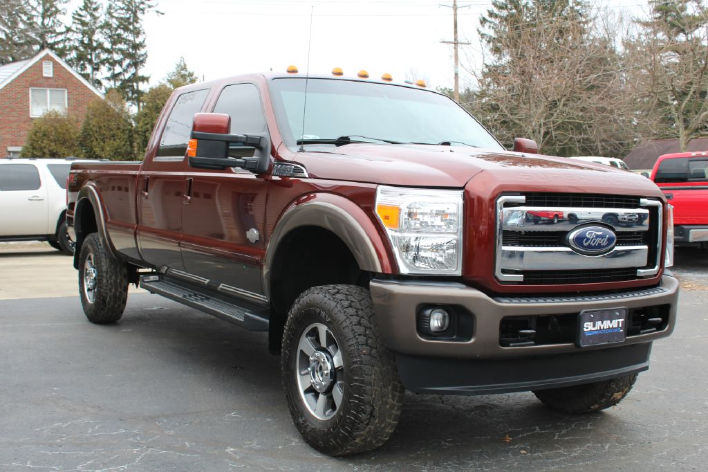 2015 FORD F350 K RANCH LB 4WD KING RANCH POWERSTROKE for sale at Summit Motorcars