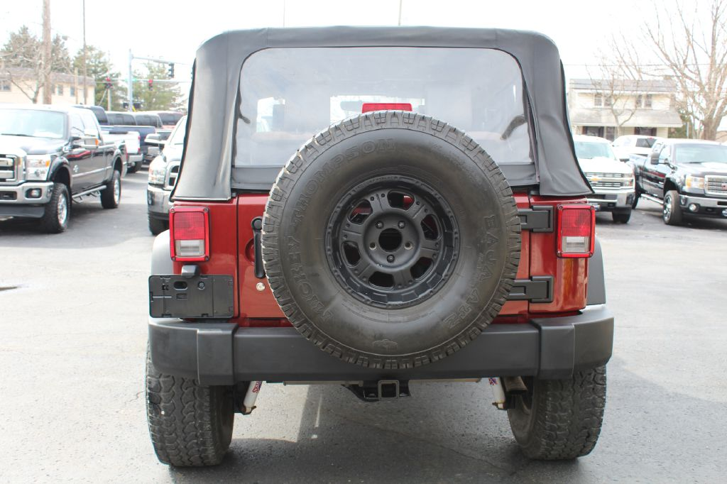 2009 JEEP WRANGLER X X 4WD for sale at Summit Motorcars