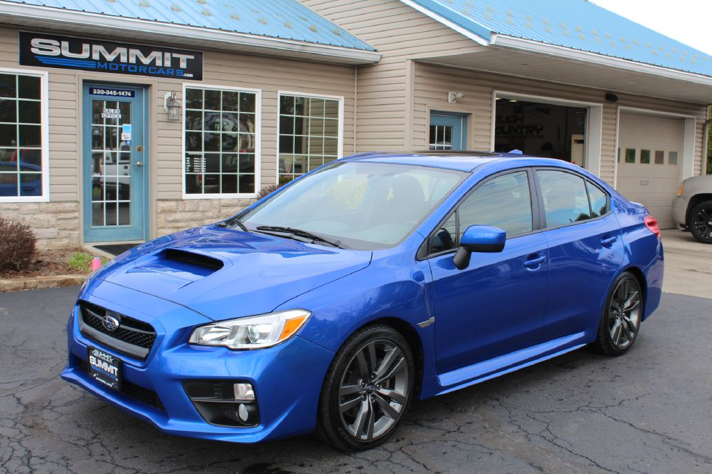 2017 SUBARU WRX PREMIUM AWD PREMIUM AWD for sale at Summit Motorcars