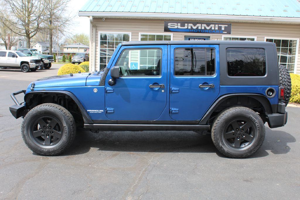 2010 JEEP WRANGLER UNLIMI RUBICON for sale at Summit Motorcars