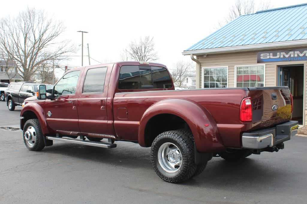 2012 FORD F450 LARIAT DRW LARIAT 4WD POWERSTROKE for sale at Summit Motorcars
