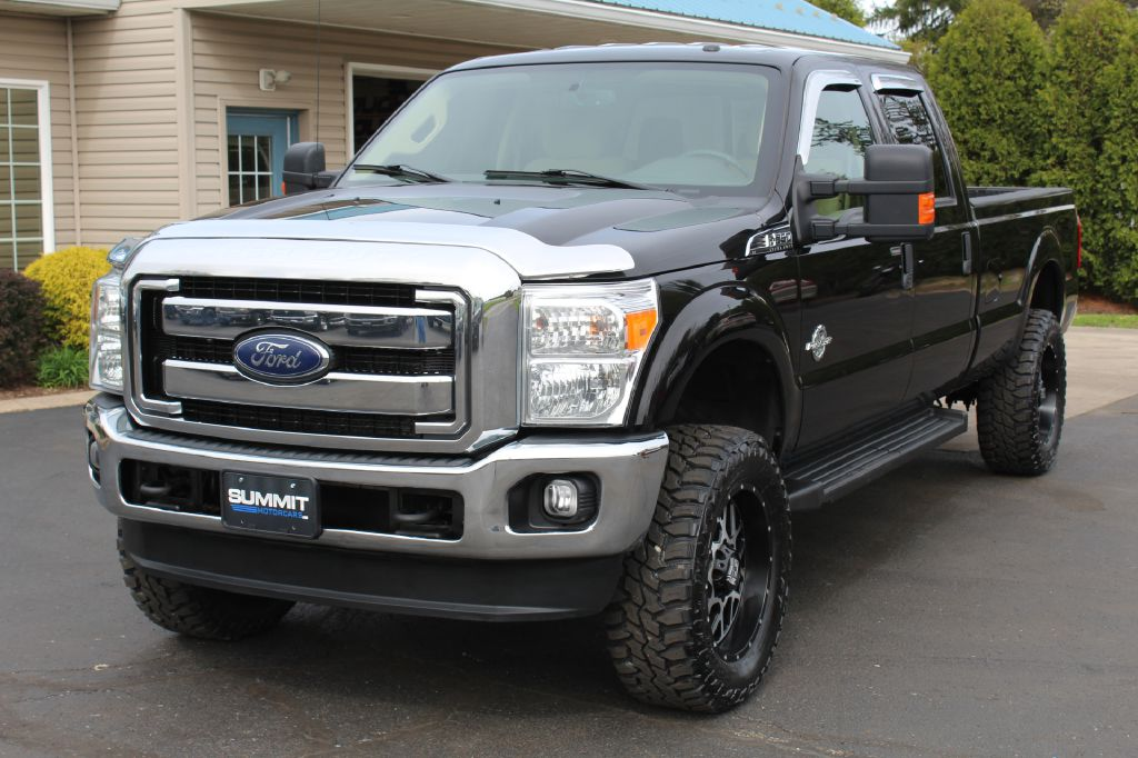 2015 FORD F250 XLT LB XLT LB 4WD POWERSTROKE for sale at Summit Motorcars