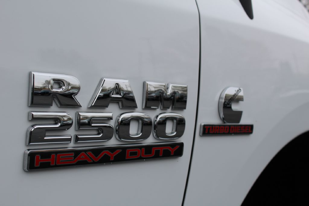 2018 RAM 2500 TRADESMAN 4x4 SXT CUMMINS for sale at Summit Motorcars