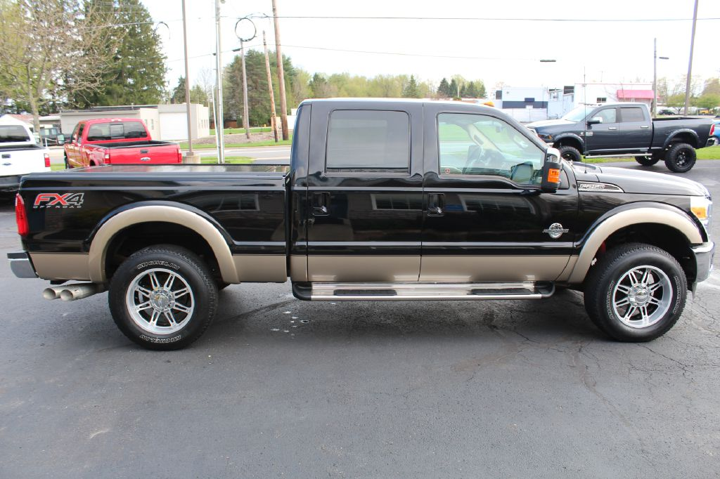 2012 FORD F250 LARIAT LARIAT 4WD POWERSTROKE for sale at Summit Motorcars