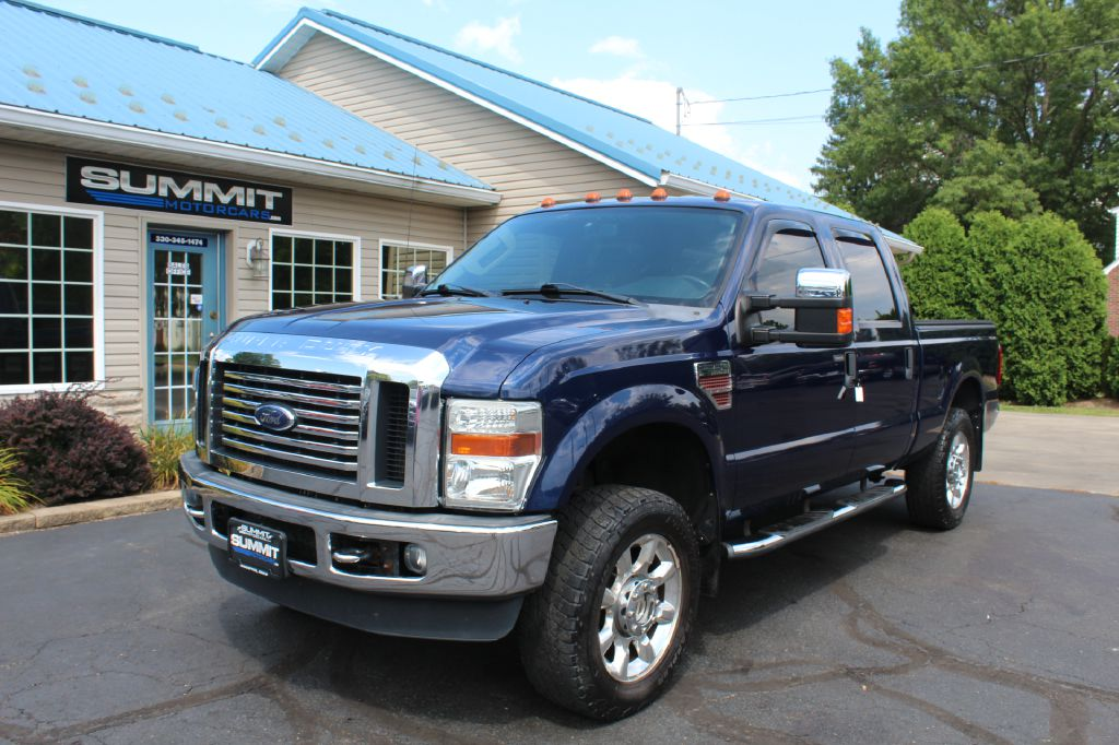 2011 FORD F250 LARIAT 4x4 LARIAT POWERSTROKE for sale at Summit Motorcars