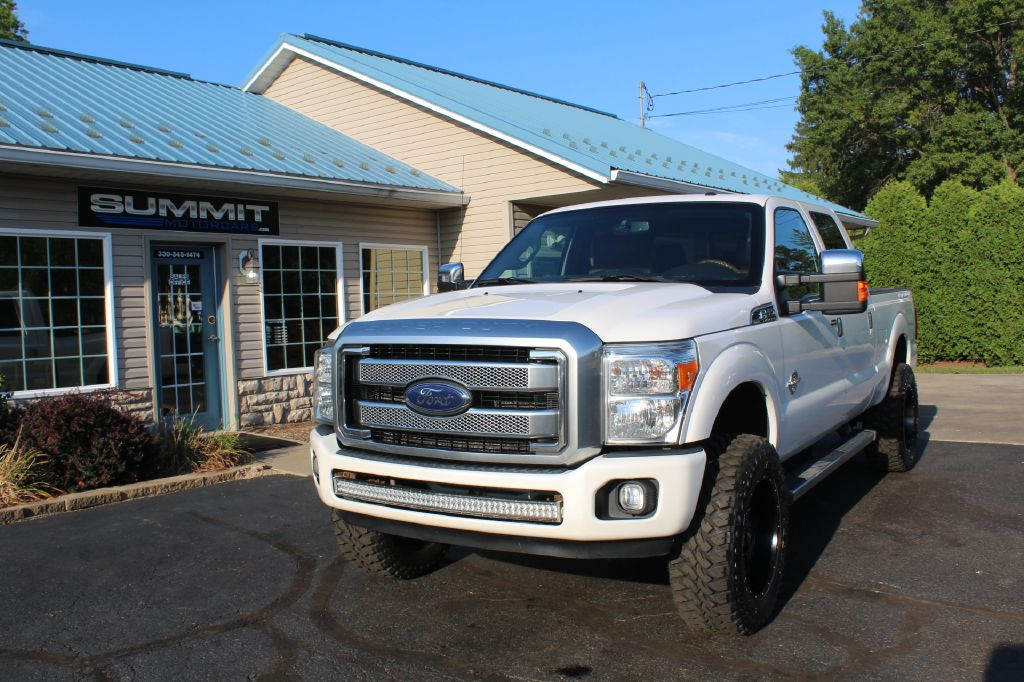 2011 FORD F250 LARIAT LARIAT 4WD POWERSTROKE for sale at Summit Motorcars