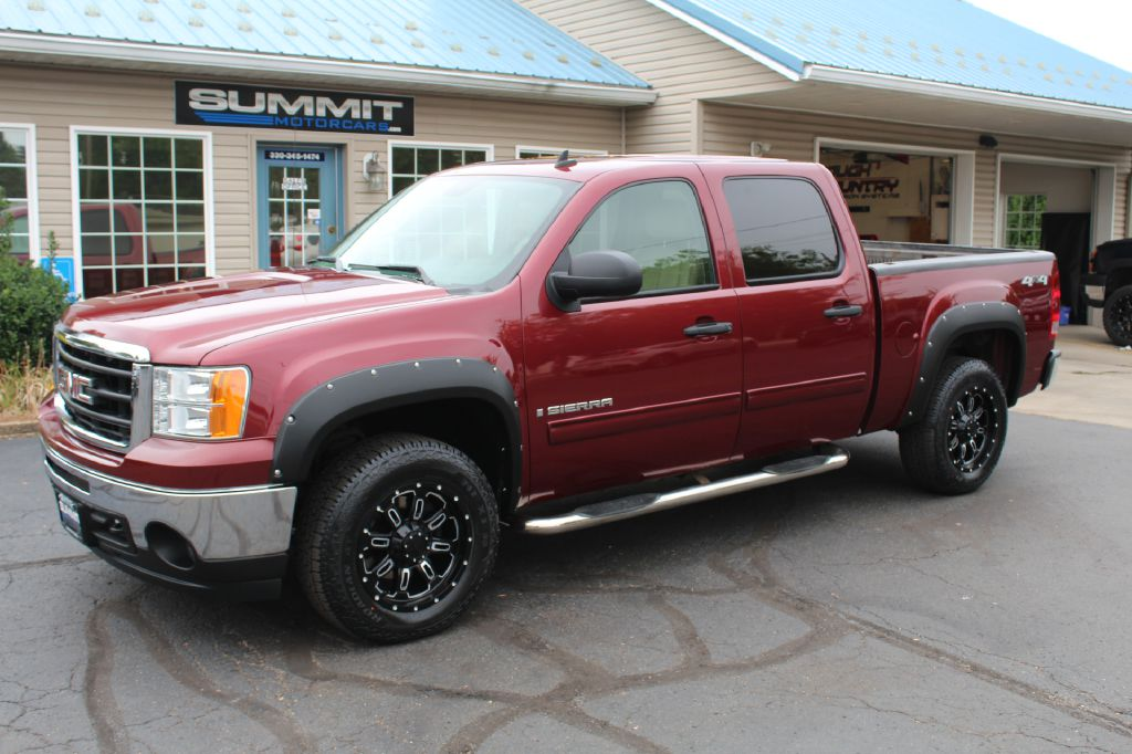 2012 GMC SIERRA 1500 SLE 4x4 SLE Z71 All Terrain for sale at Summit Motorcars