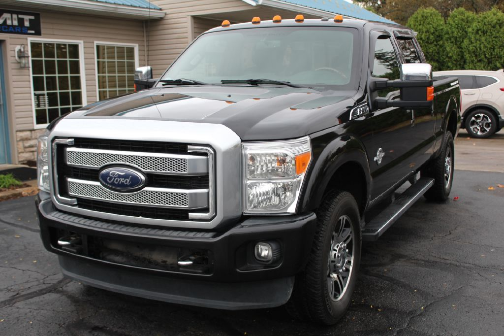 2014 FORD F350 PLATINUM 4x4 PLATINUM for sale at Summit Motorcars