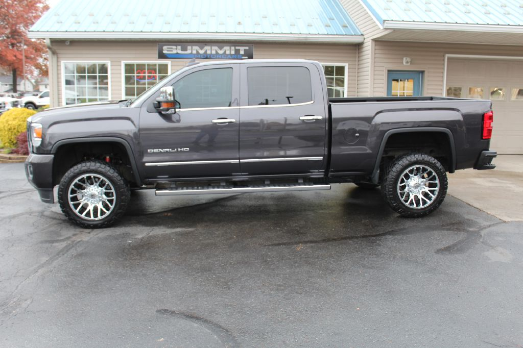 2016 GMC 2500 DENALI 4x4 SIERRA 2500HD DENALI for sale at Summit Motorcars