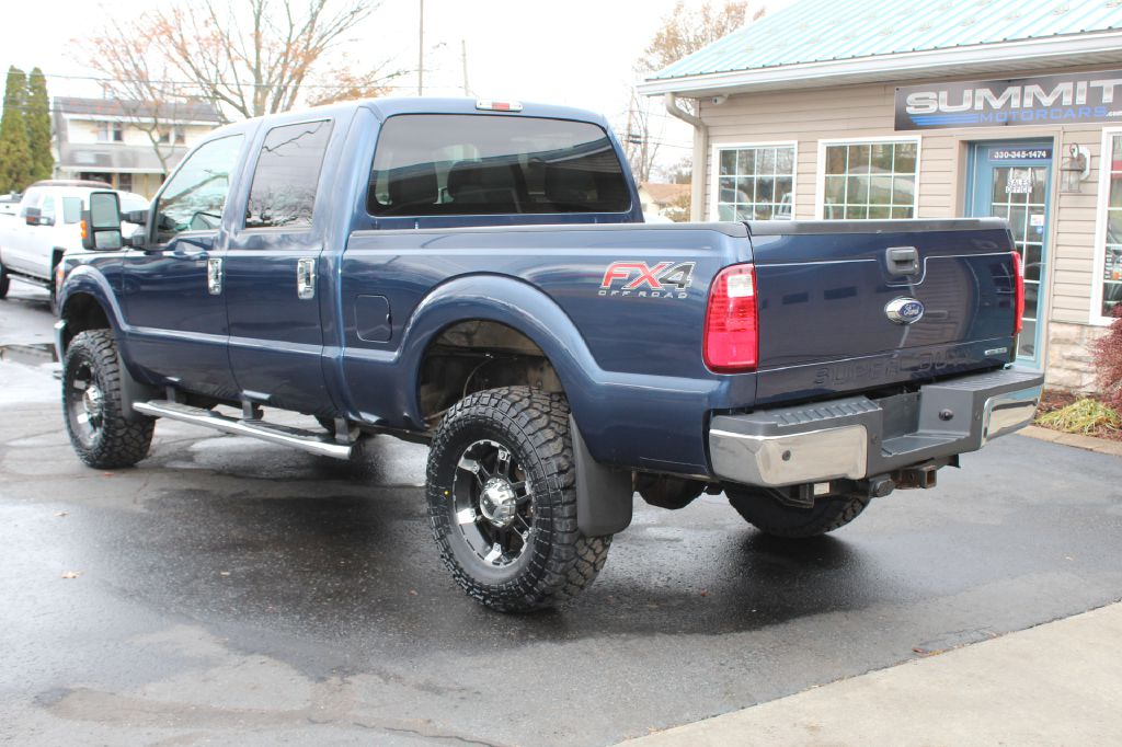2015 FORD F250 XLT FX4 4x4 XLT W/FX4 for sale at Summit Motorcars