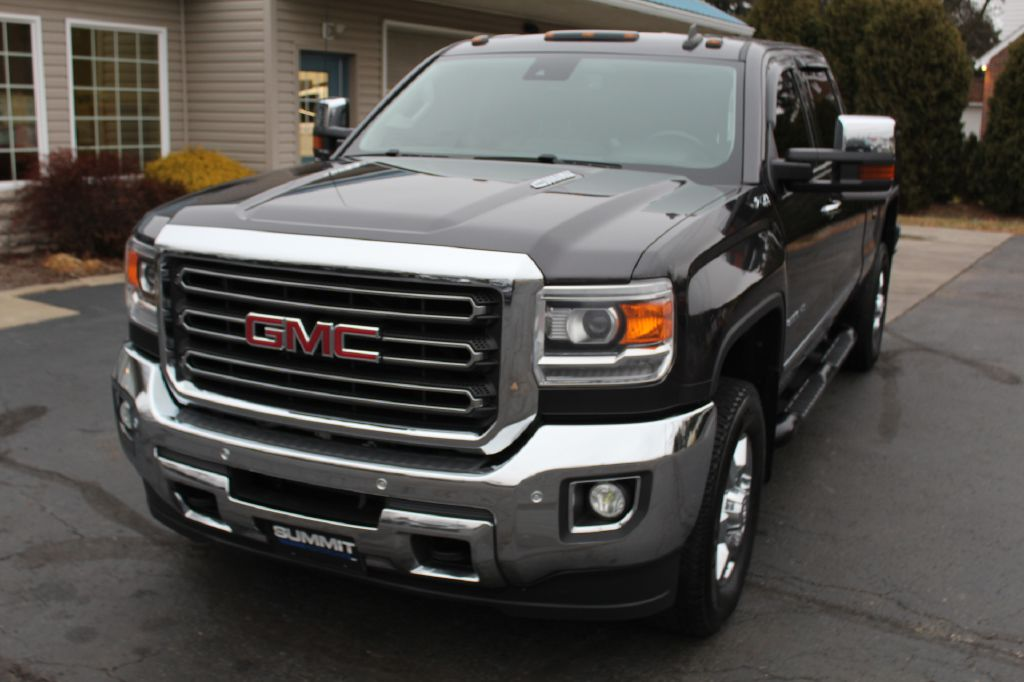 2015 GMC 2500 SLT W/Z71 4x4 SLT w/Z71 DURAMAX for sale at Summit Motorcars