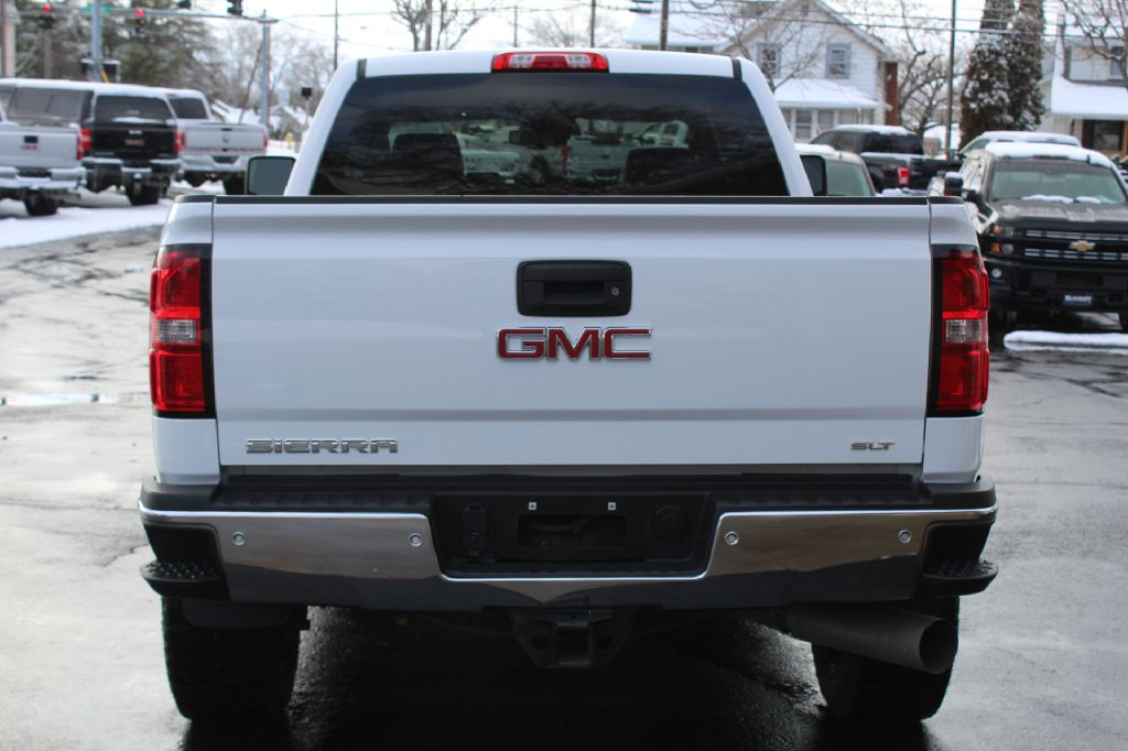 2015 GMC 2500 SLT W/Z71 4x4 SLT wZ71 DURAMAX for sale at Summit Motorcars