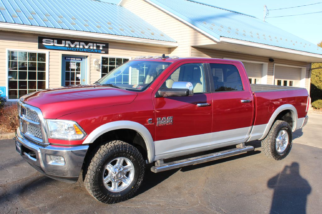 2014 RAM 3500 FLAT BED 4x4 TRADESMAN CUMMINS for sale at Summit Motorcars