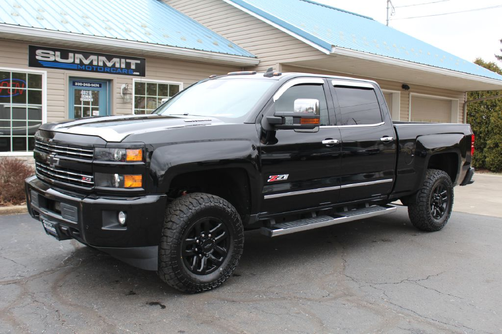 2016 CHEVROLET 2500 LTZ Z71 4x4 LTZ w/Z71 DURAMAX for sale at Summit Motorcars