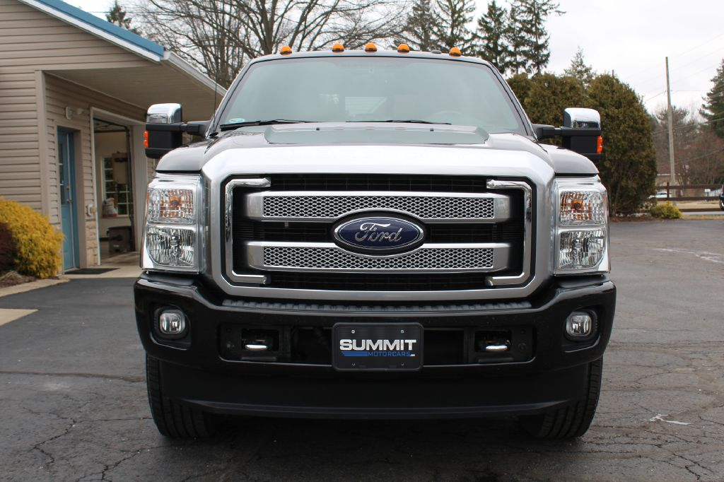 2015 FORD F250 PLATINUM 4x4 PLATINUM POWERSTROKE for sale at Summit Motorcars
