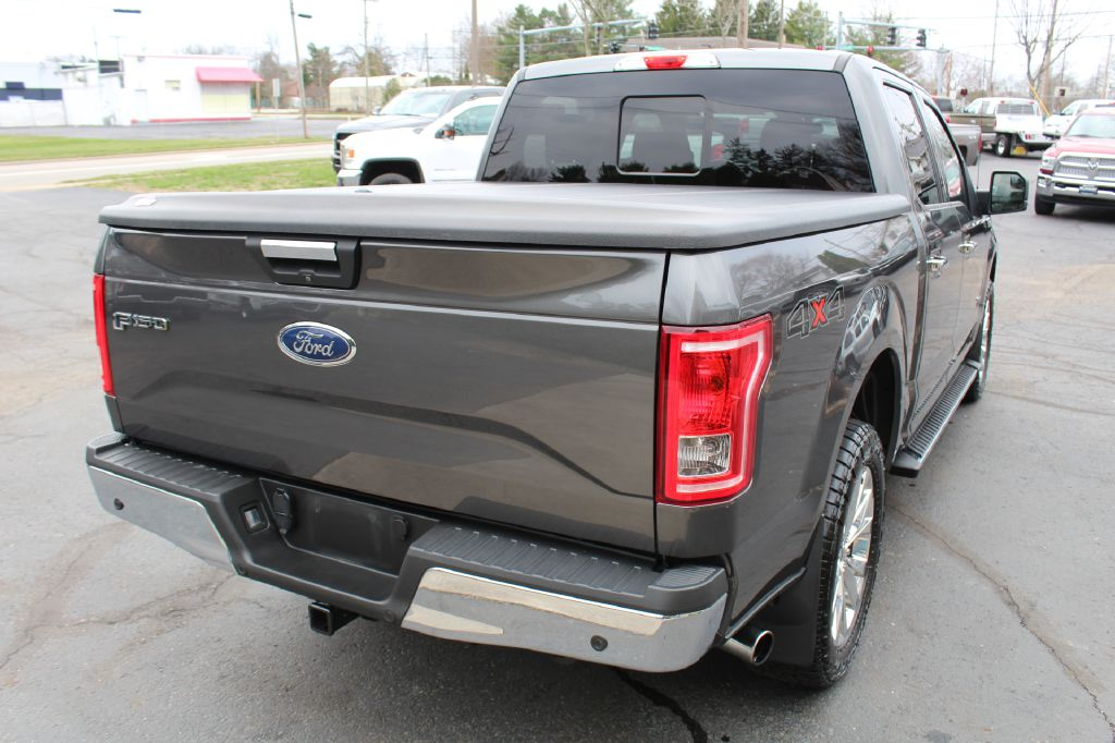 2015 FORD F150 XLT 4x4 XLT SUPERCREW for sale at Summit Motorcars