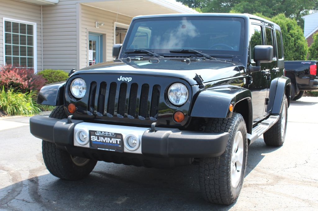 2013 JEEP WRANGLER UNLIMI 4x4 SAHARA UNLIMITED for sale at Summit Motorcars