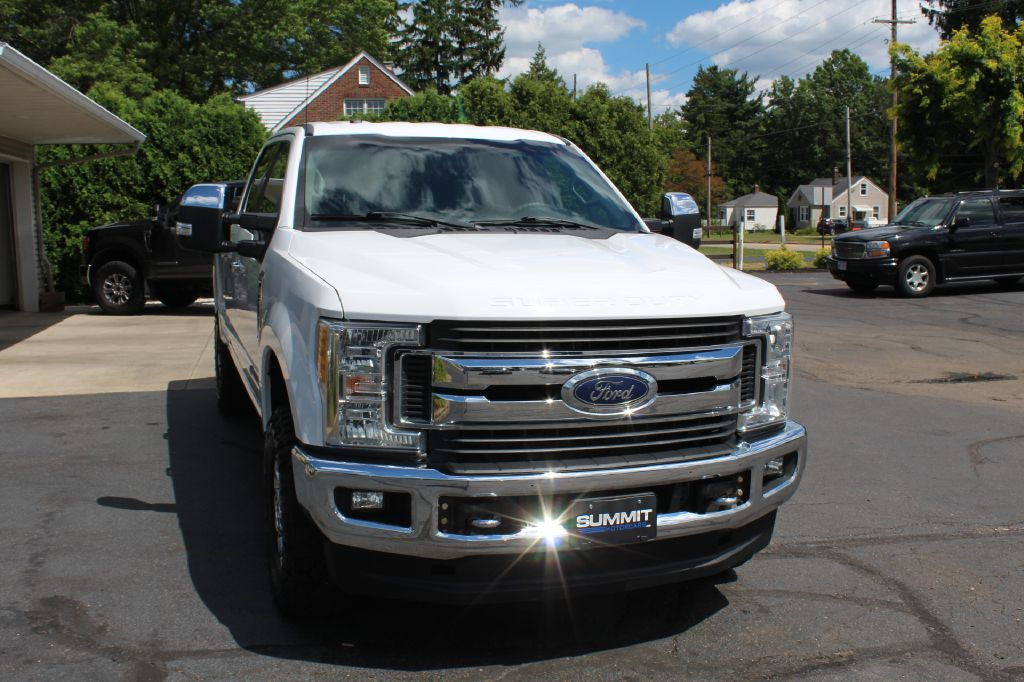 2017 FORD F250 XLT FX4 4x4 XLT FX4 POWERSTROKE for sale at Summit Motorcars