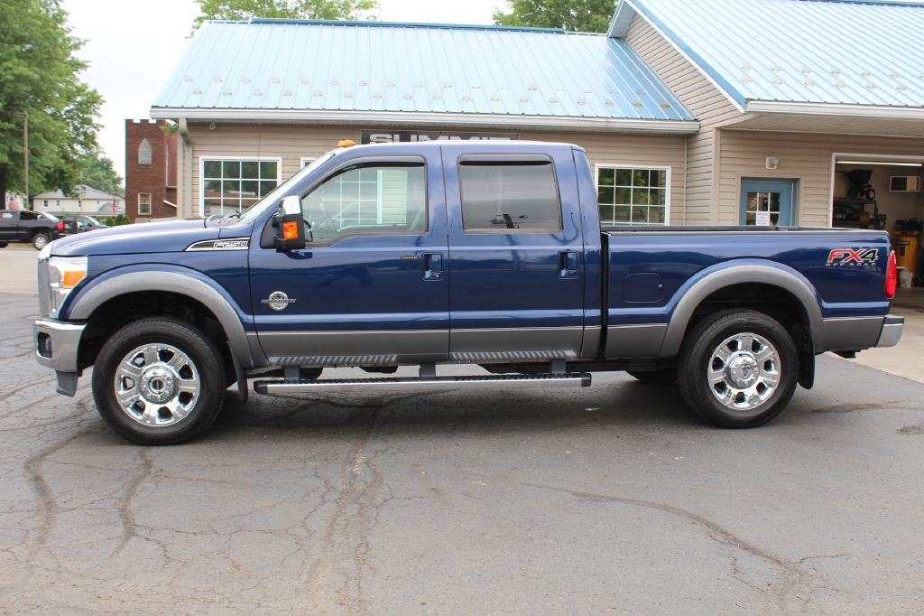 2012 FORD F250 LARIAT 4x4 LARIAT POWERSTROKE for sale at Summit Motorcars
