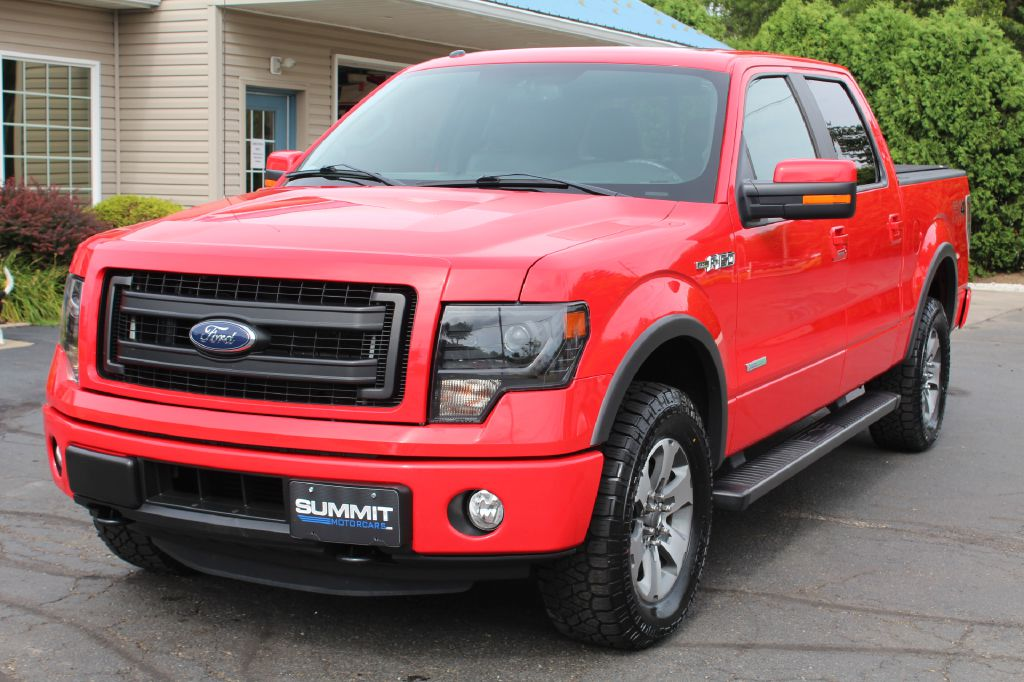 2014 FORD F150 FX4 4x4 FX4 3.5L ECOBOOST for sale at Summit Motorcars