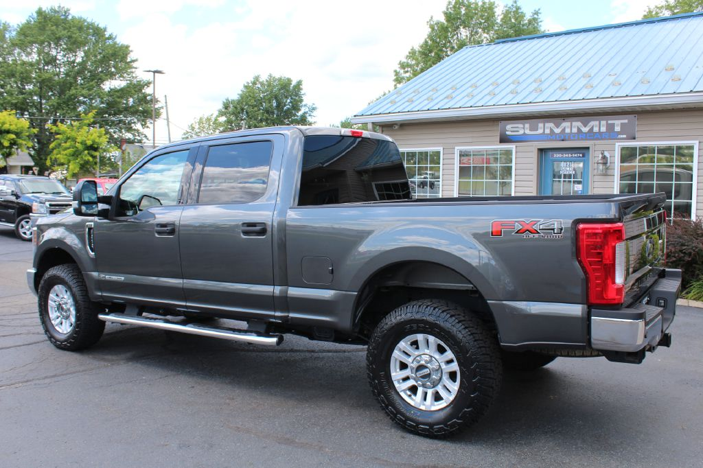 2018 FORD F250 XLT FX4 4x4 XLT FX4 POWERSTROKE for sale at Summit Motorcars