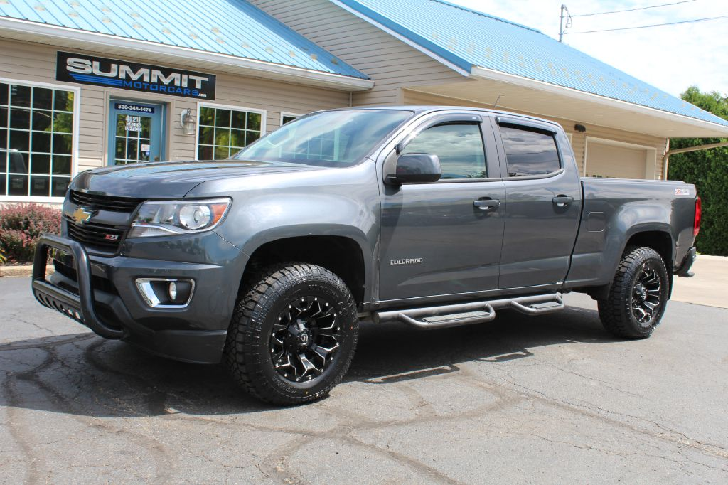 2017 CHEVROLET 1500 CUSTOM 4x4 CUSTOM for sale at Summit Motorcars