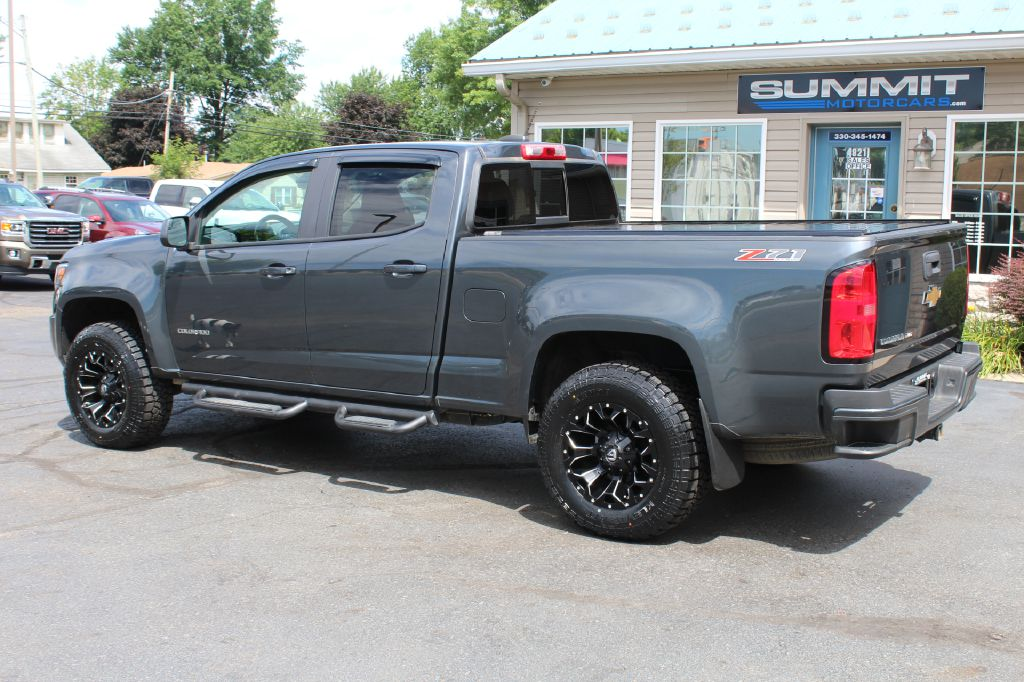 2017 CHEVROLET COLORADO Z71 4x4 Z71 for sale at Summit Motorcars
