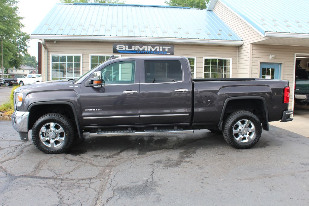 2016 GMC SIERRA 2500 SLT 4x4 SLT DURAMAX for sale at Summit Motorcars