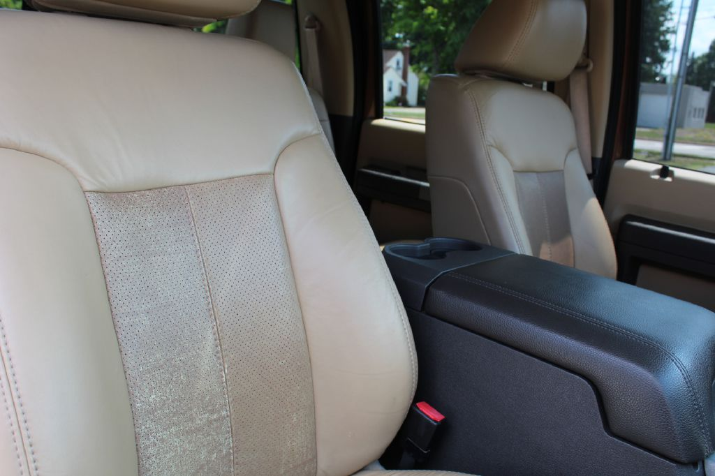 2011 FORD F350 LARIAT 4x4 LARIAT POWERSTROKE for sale at Summit Motorcars