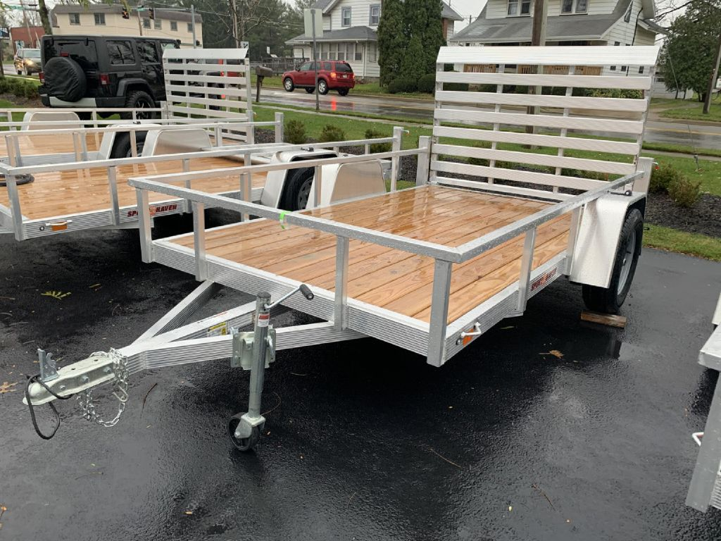 2021 SPORT HAVEN AUT714 7x14 Aluminum Utility Trailer for sale at Summit Motorcars