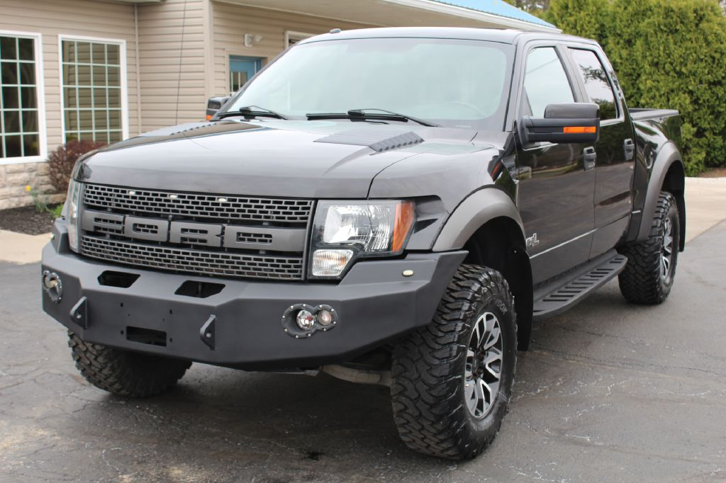 2012 FORD F150 SVT RAPTOR 4x4 SVT RAPTOR for sale at Summit Motorcars