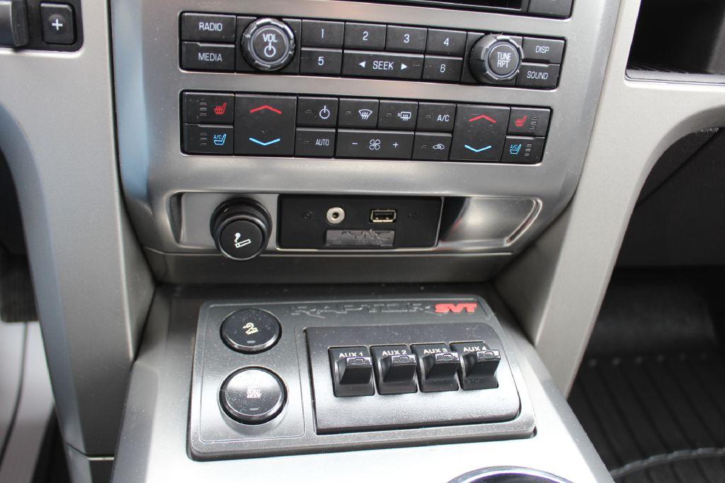 2012 FORD F150 SVT RAPTOR 4x4 SVT RAPTOR for sale at Summit Motorcars
