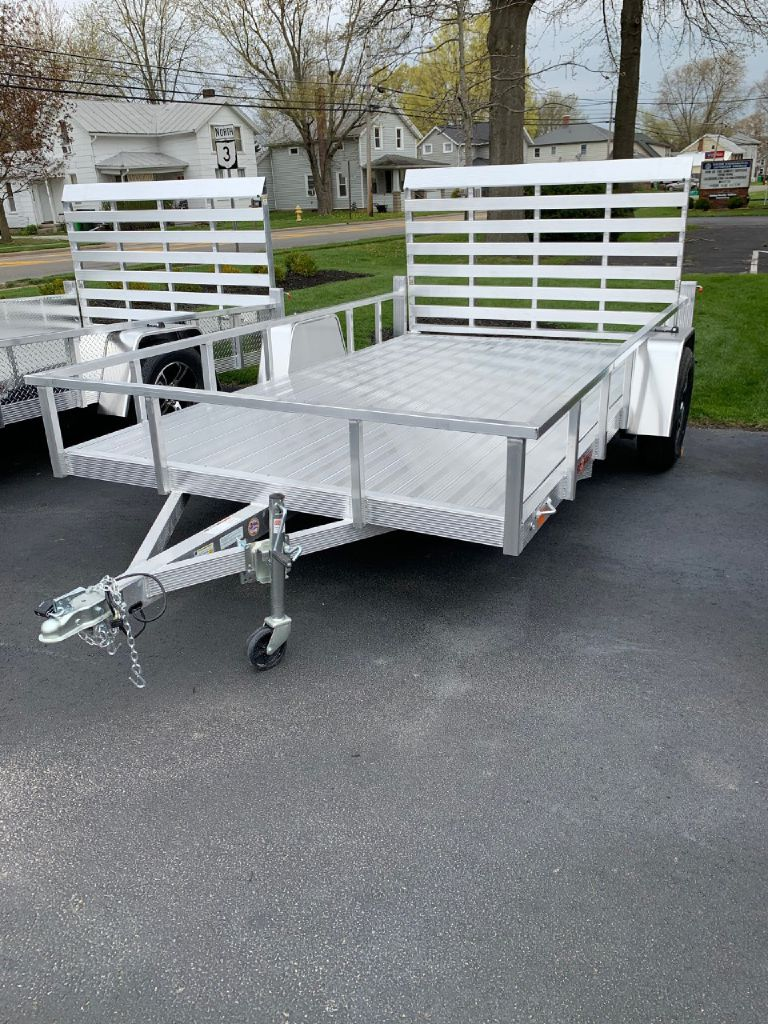 2021 SPORT HAVEN AUT614DS 6x14 Aluminum Utility Trailer for sale at Summit Motorcars